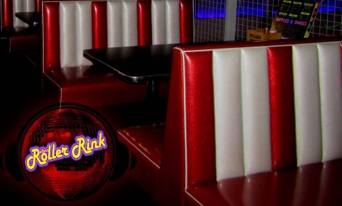 Retro Party Booths at the Rink Cornwall