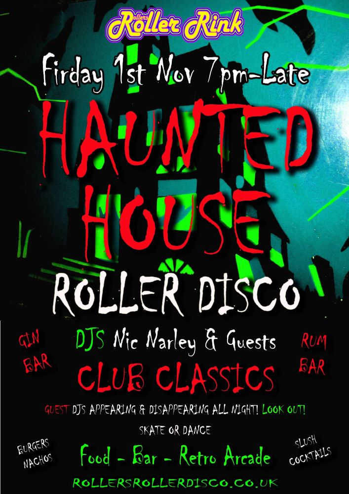 Haunted House Skate or Dance Night at the Rink 2019