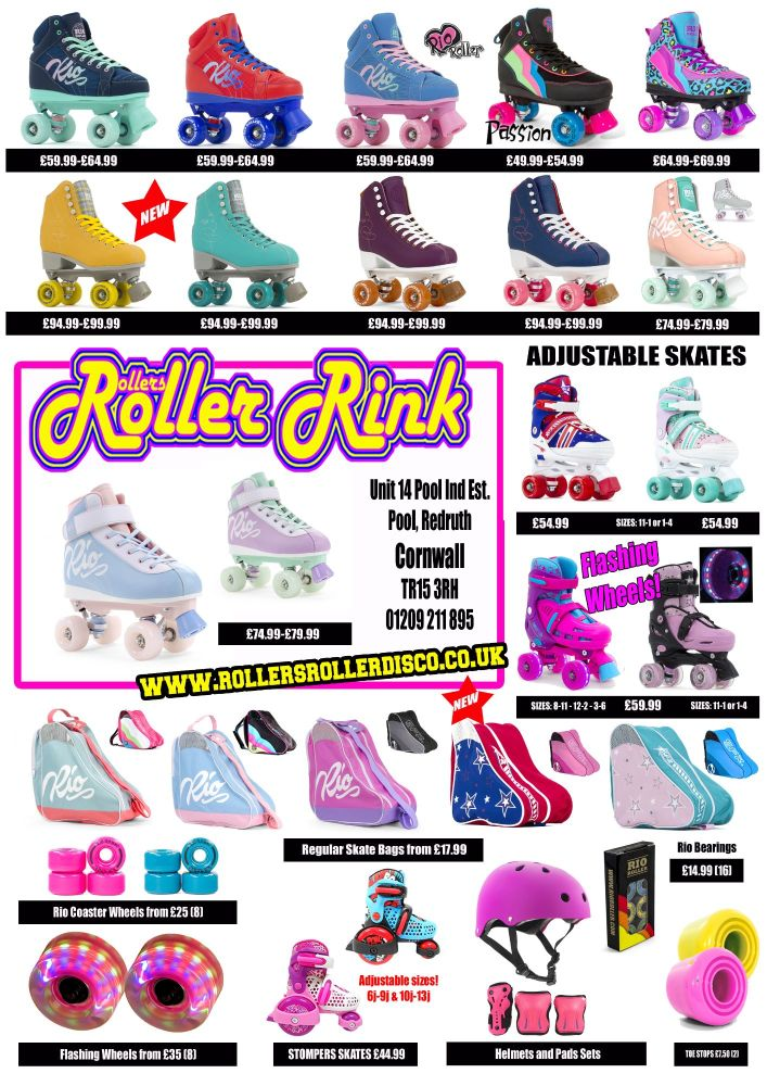 Rinkside Skate Shop Roller Skates List 2020