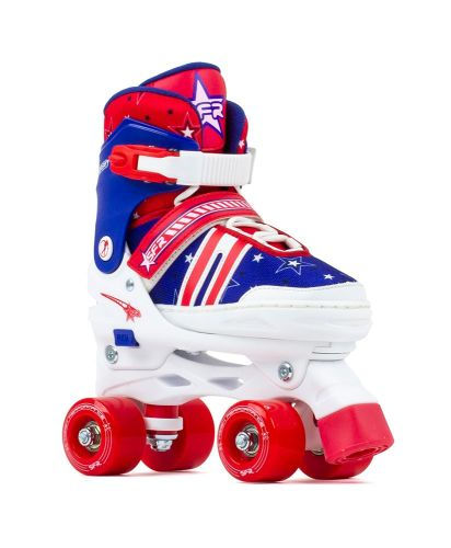 SFR Storm Adjustable Roller Skates 8J-6A Blue & Black
