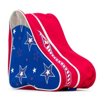 Rio Roller Skates Carry Bag - Blue Red Star
