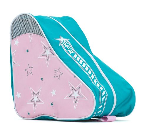 Rio Roller Skates Carry Bag - Blue/Red Star