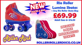 Rio Roller Lumina Skates & Skate Bag Deal