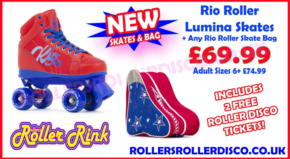 Rio Roller Lumina Skates Deal with Bag