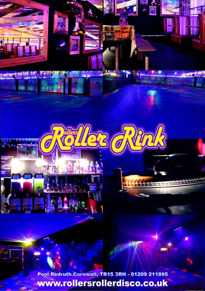 Rollers Roller Disco Skate Rink Cornwall 2020