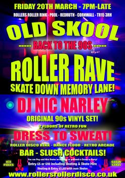 Roller Rave Cornwall 2020