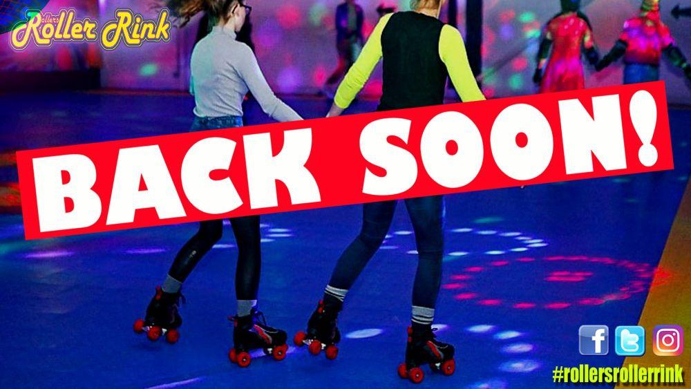 Back soon Roller Disco Cornwall 2020