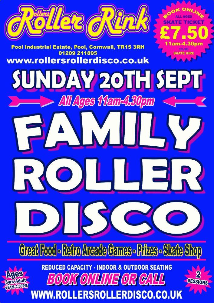 Sunday Roller Disco 20th September 2020