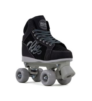 Rio Roller Lumina Quad Skates - Black Grey