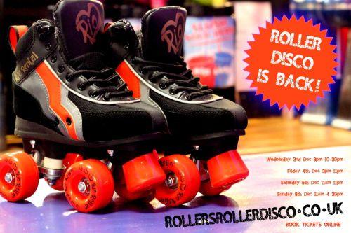 Back again Roller Disco Cornwall