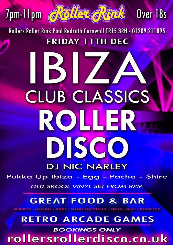Ibiza Club Classics Friday 11th Dec 2020