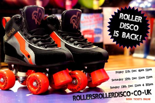 Back again Roller Disco Cornwall 2020