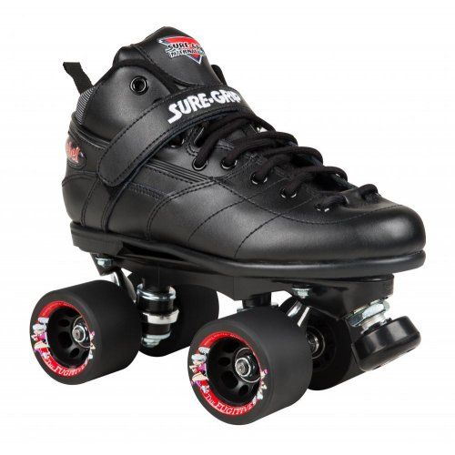 Sure Grip Quad Skates Rebel Derby Black (ex display) RRP £189.99