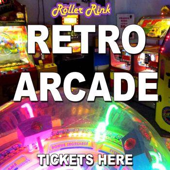 Retro Arcade & Cafe Entry (Non Skaters)