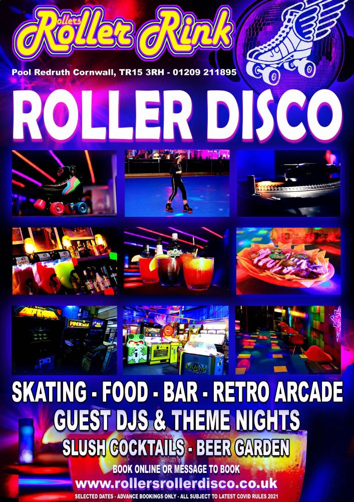 Roller Disco is BACK! Summer 2021 Cornwall