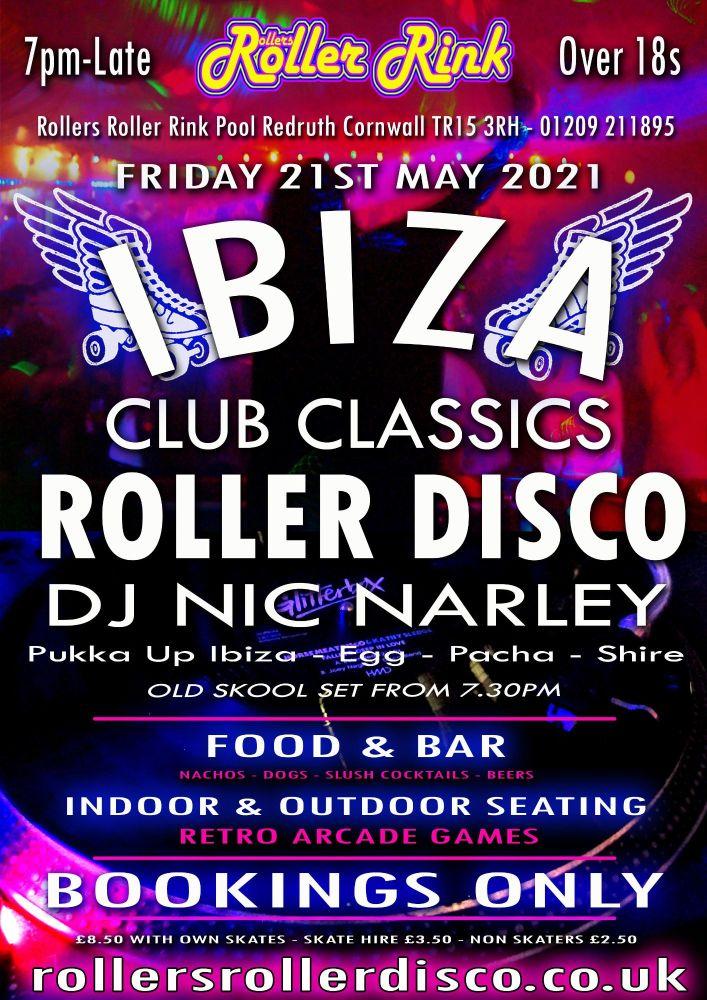 Ibiza Club Classics Friday 21st May 2021