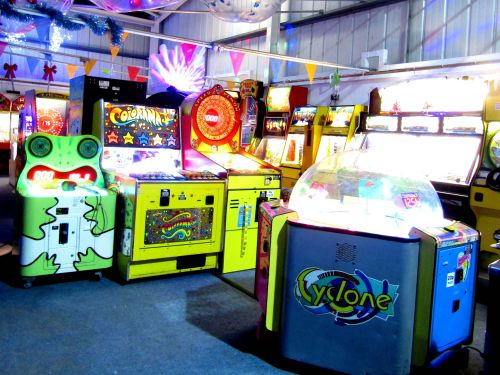 90s Arcade at the Rink Cornwall