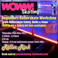 Woww Skate Workshop at the Rink May 20th Cornwall