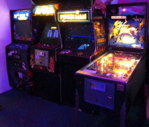 70s 80s Arcade Games at the Rink Cornwall