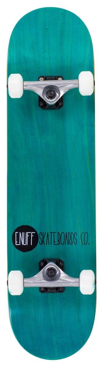 """ENUFF LOGO STAIN COMPLETE - TEAL -  8"""" x 32"""""""