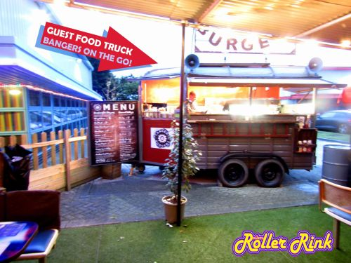 Guest Food Truck - Bangers On The Go! at the Roller Rink Cornwall