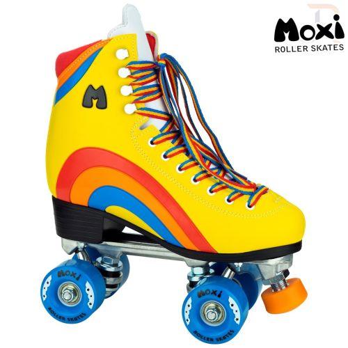 Moxi Rainbow Rider Quad Roller Skates - Black