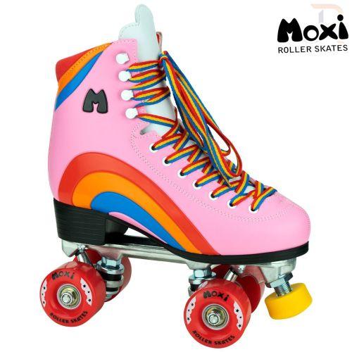 Moxi Rainbow Rider Quad Roller Skates - Sunset Yellow
