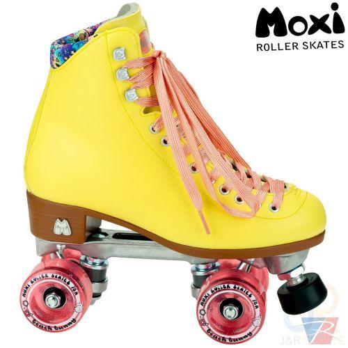 Moxi Rainbow Rider Quad Roller Skates - Bubble Gum Pink