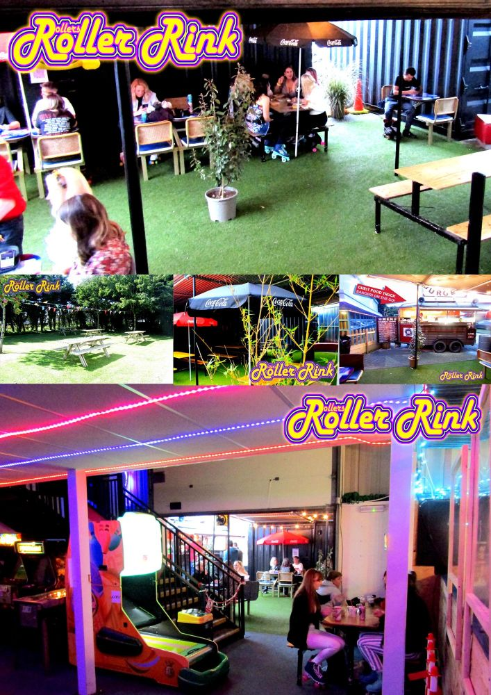 Indoors Outdoors at the Skate Rink Cornwall