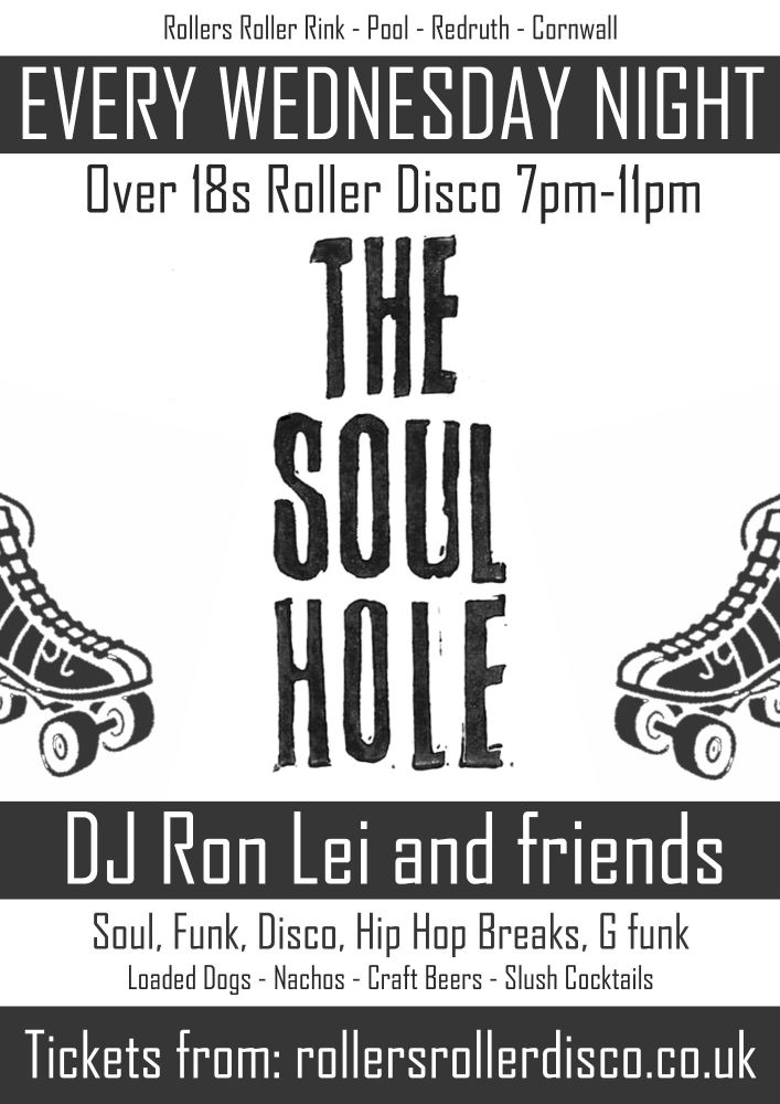 Soul Hole Roller Disco Every Wednesday 2021