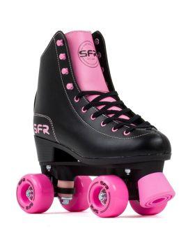 SFR Figure Quad Skates - Black/Pink