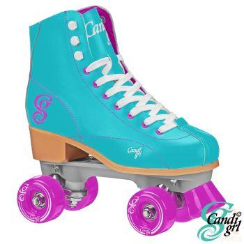 Candi Grl-Sabina Roller Skates - Mint-Purple