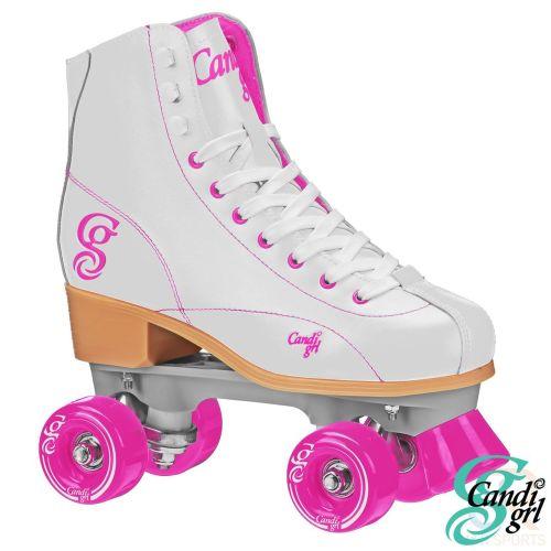 Candi Girl-Sabina Roller Skates - Mint-Purple