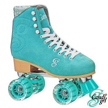 Candi Grl Carlin Skates - Teal
