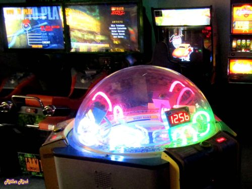 Retro Arcade Games at the Roller Rink Cornwall
