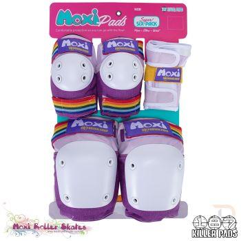 Triple 8 187 Killer Pads Six Pack Combo Protection - Moxi Lavender