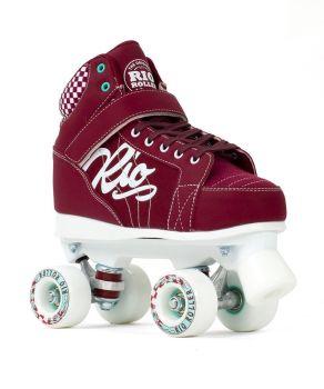 Rio Roller Mayhem II Skates - Red