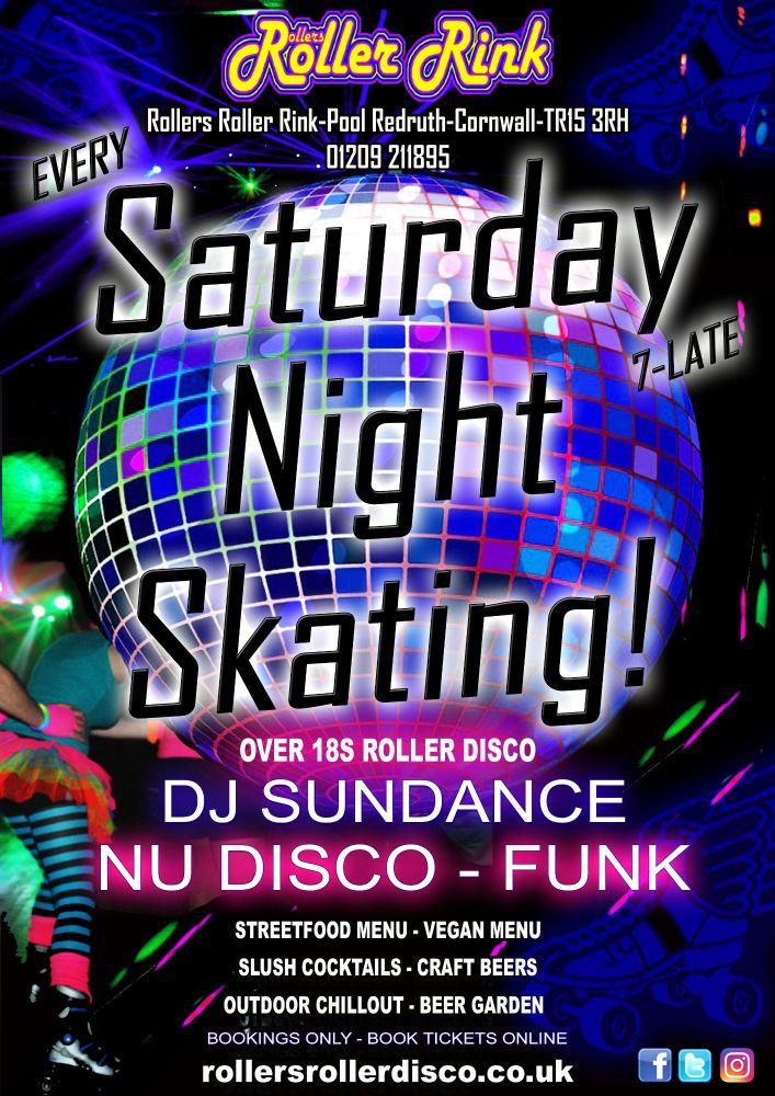 Saturday Night Skating Cornwall Summer 2021