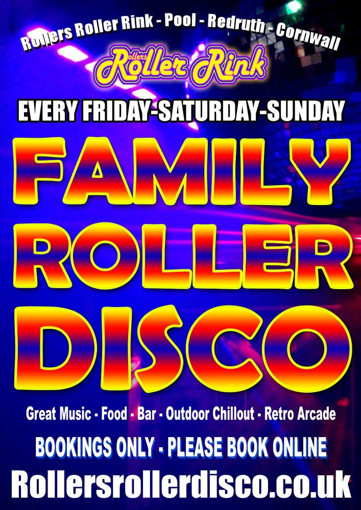 Family Roller Disco Cornwall 2021