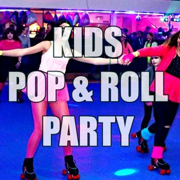 Kids Pop and Roll Roller Disco Party