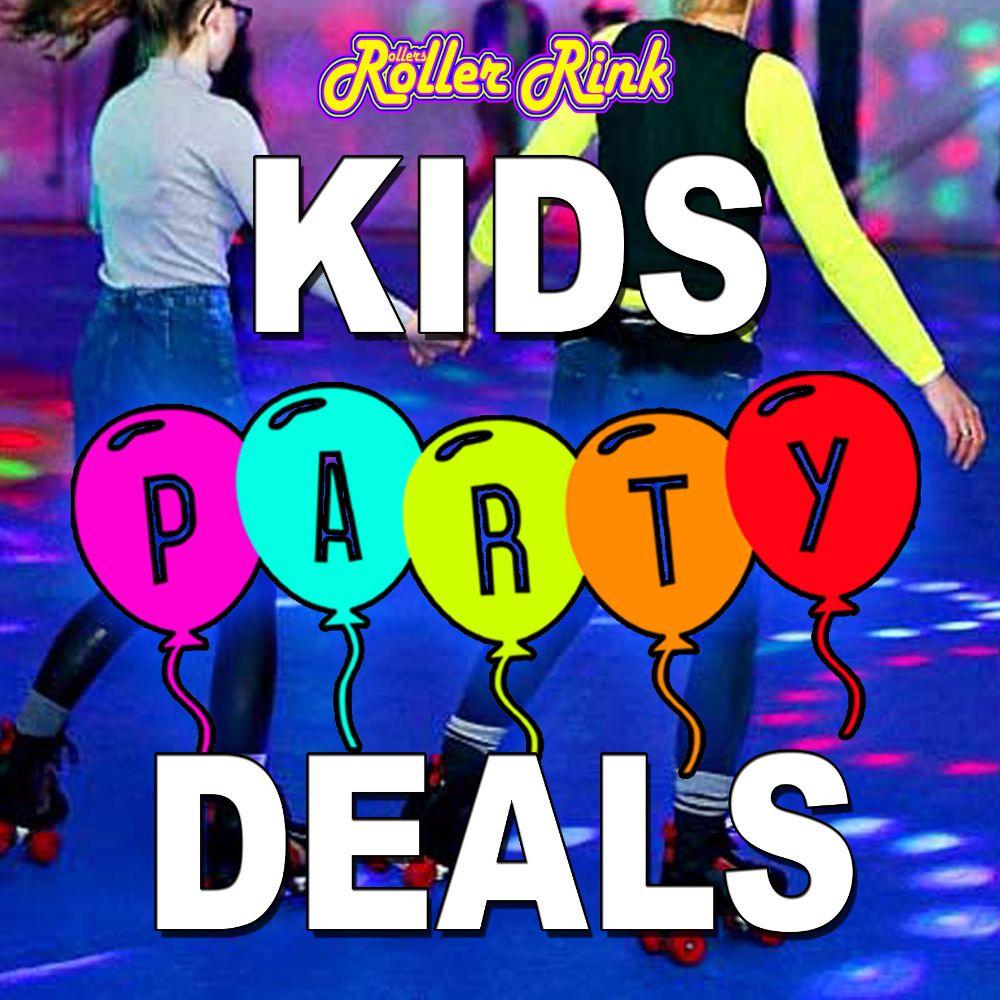 Roller Disco Kids Party Deals