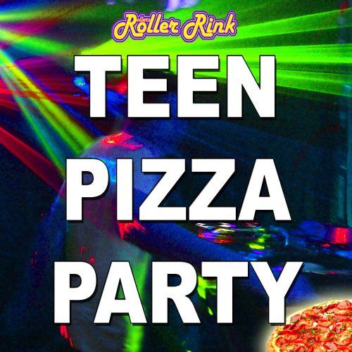 Teen Pizza & Skate Roller Disco Party