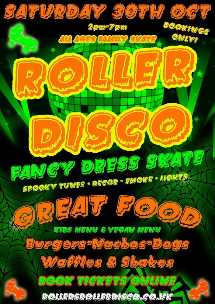 Halloween Family Roller Disco Cornwall 2021