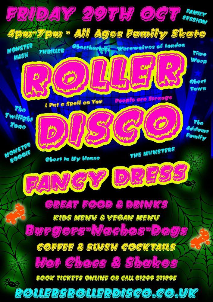 Halloween 2021 Kids Roller Disco 2021