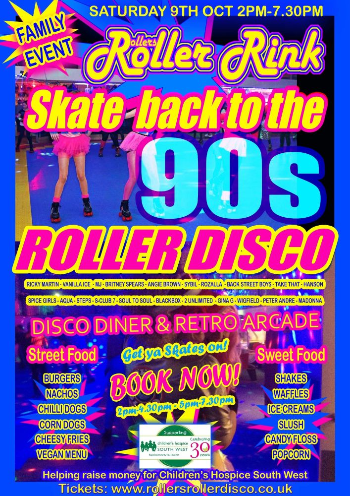 90s Roller Disco Party 2021