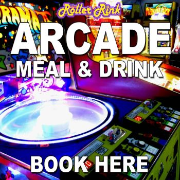 Retro Arcade, Meal & Drink Tickets (Kids, Teens & Adults options)