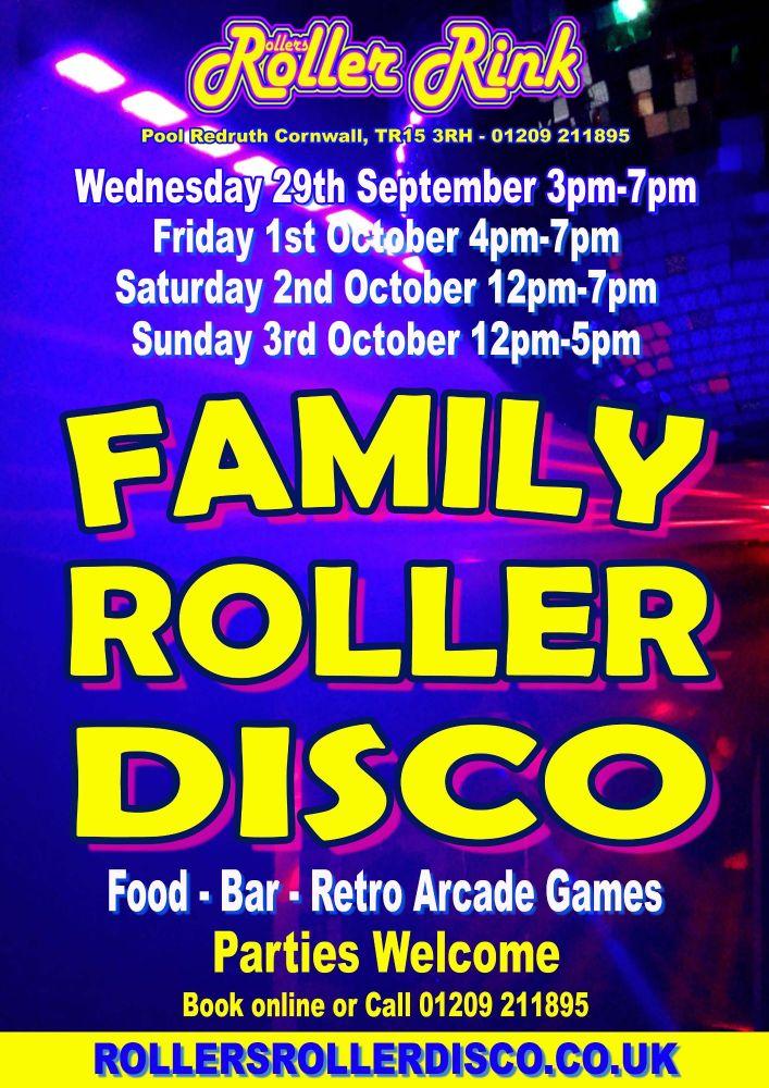 Roller Disco Cornwal Sept Octl 2021