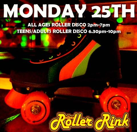 Monday at Rollers Roller Rink Cornwall