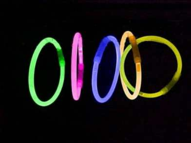 8 Inch Neon Glow Bracelets 2 Per Packet