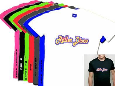 Rollers Roller Disco Mens T Shirt S-XXXL
